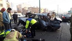 حادثه ی تلخ در بزرگراه یادگار امام + عکس دیده نشده