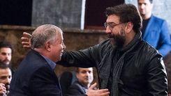 علی پروین امروز بر سر زنده یاد مزار علی انصاریان