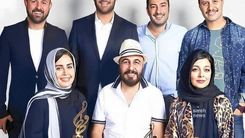 عکس خاص دسته جمعی سوپراستار های ایرانی