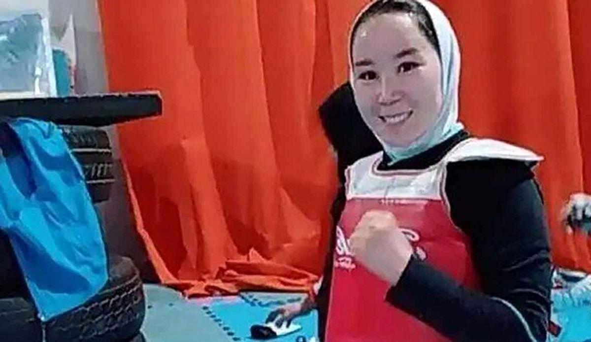 تقاضای ورزشکار دختر افغانستانی برای حضور در پارالمپیک