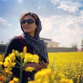 عکس جنجالی حدیثه تهرانی  و همسرش لب ساحل + عکس لورفته