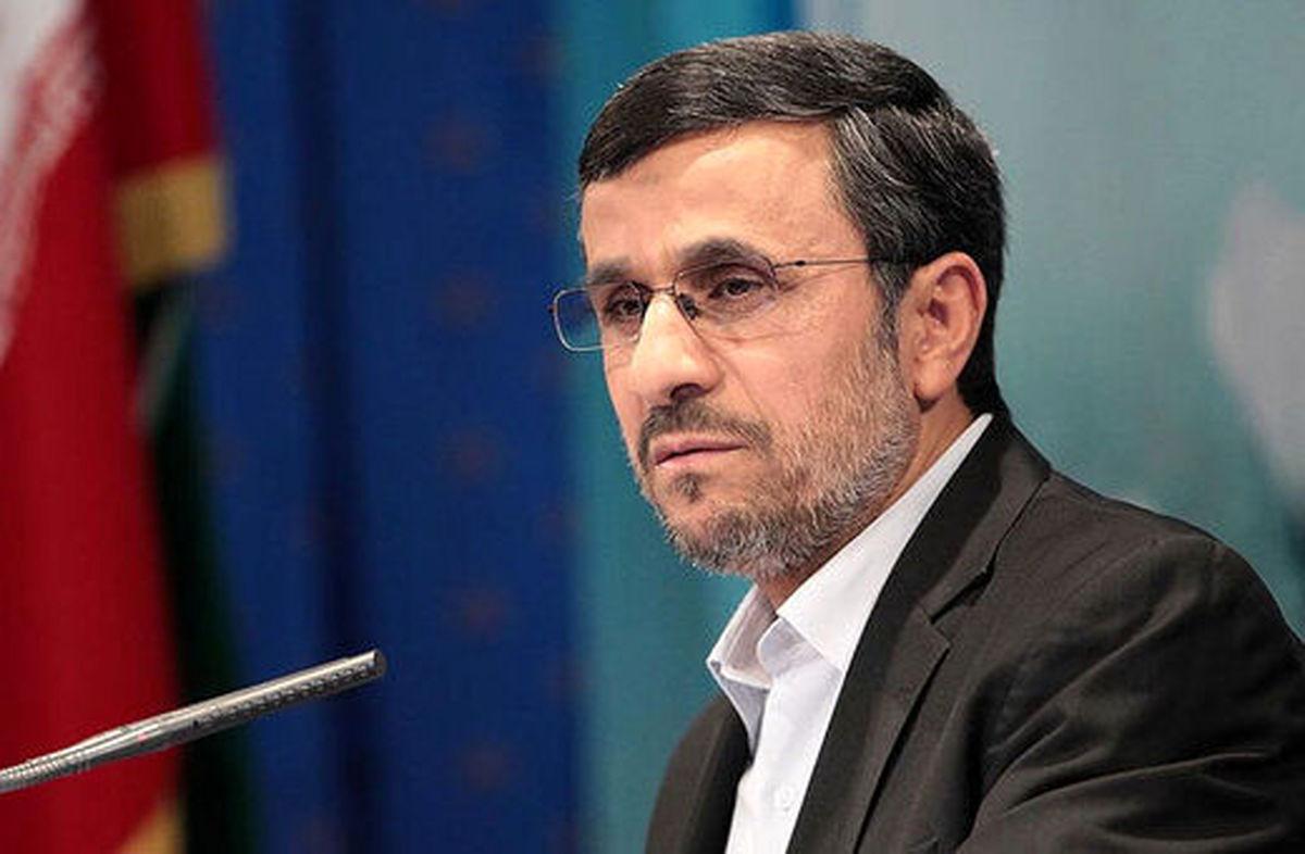 ادعای جنجالی محمود احمدی نژاد + جزئیات