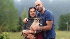 عکس لورفته از حدیثه تهرانی در باغ گل + عکس دیده نشده