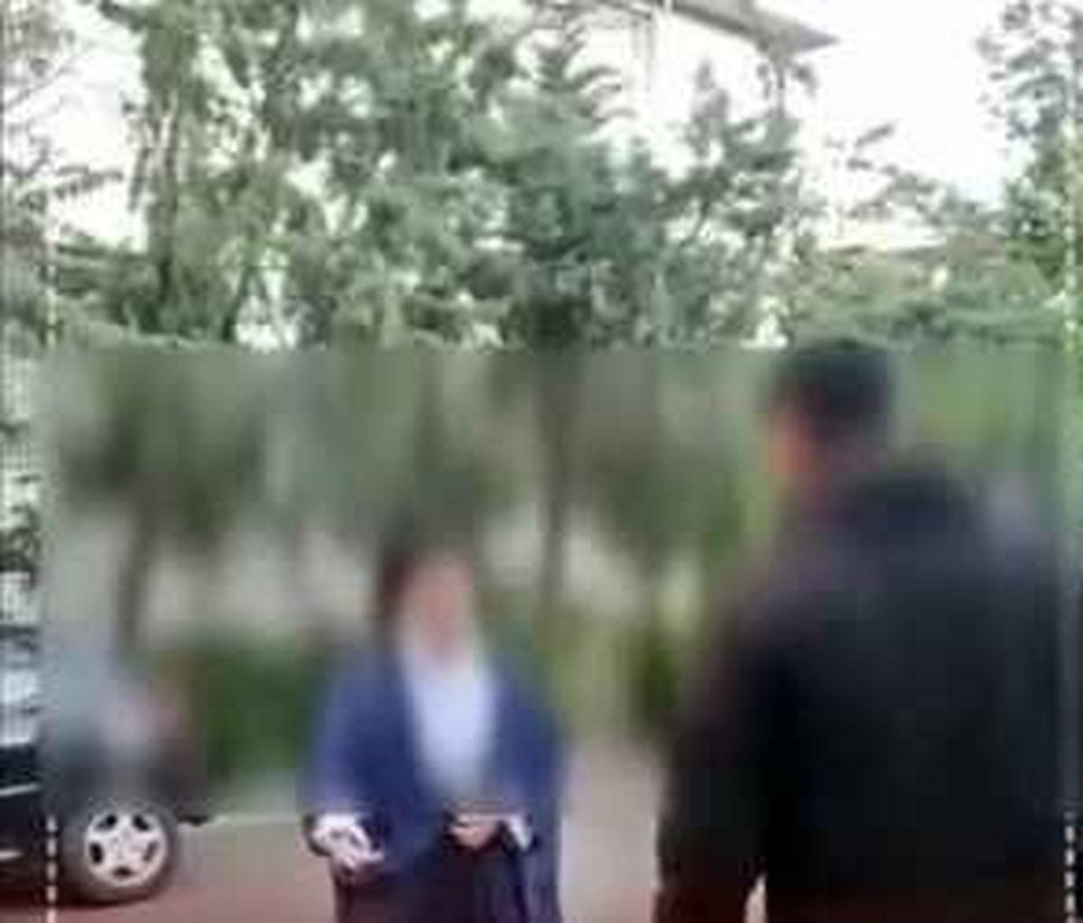 دستگیری فردی که به یک روحانی در کیاشهر سیلی زد + فیلم