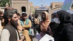 اعتراض زنان از حمله تحقیر آمیز طالبان علیه زنان افغان