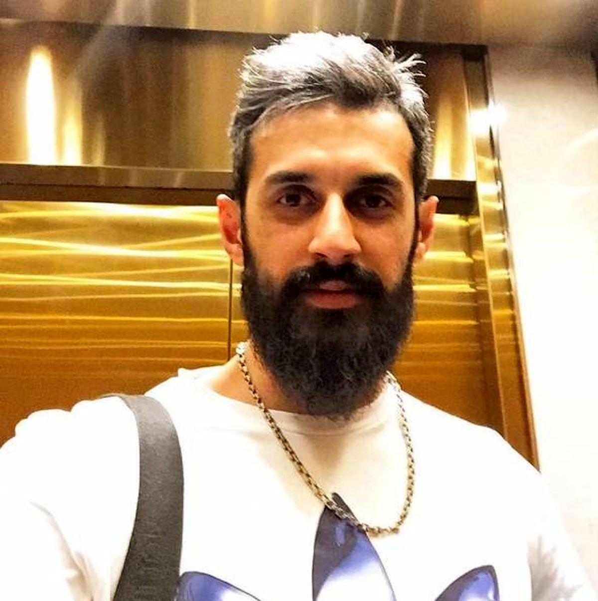 عکس صمیمی از سعید معروف در کنار فرهاد مجیدی