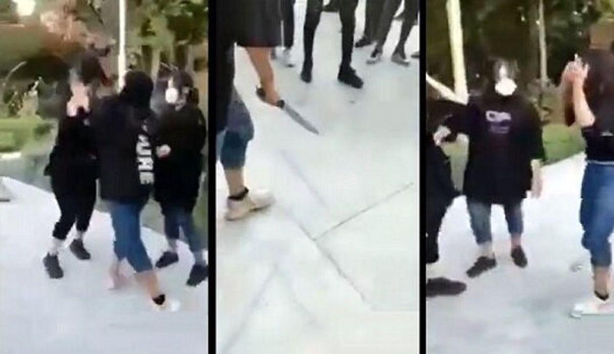 اولین واکنش هلیا دختر قمه کش بعد از قمه کشی
