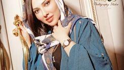 میکاپ جدید و زیبای لیلا اوتادی در فضای مجازی دست به دست شد