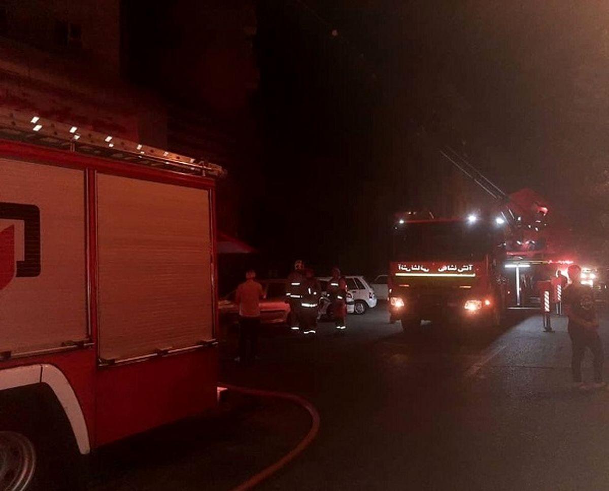 یک خانواده در آتش سوختند / آتش سوزی هولناک در بوکان