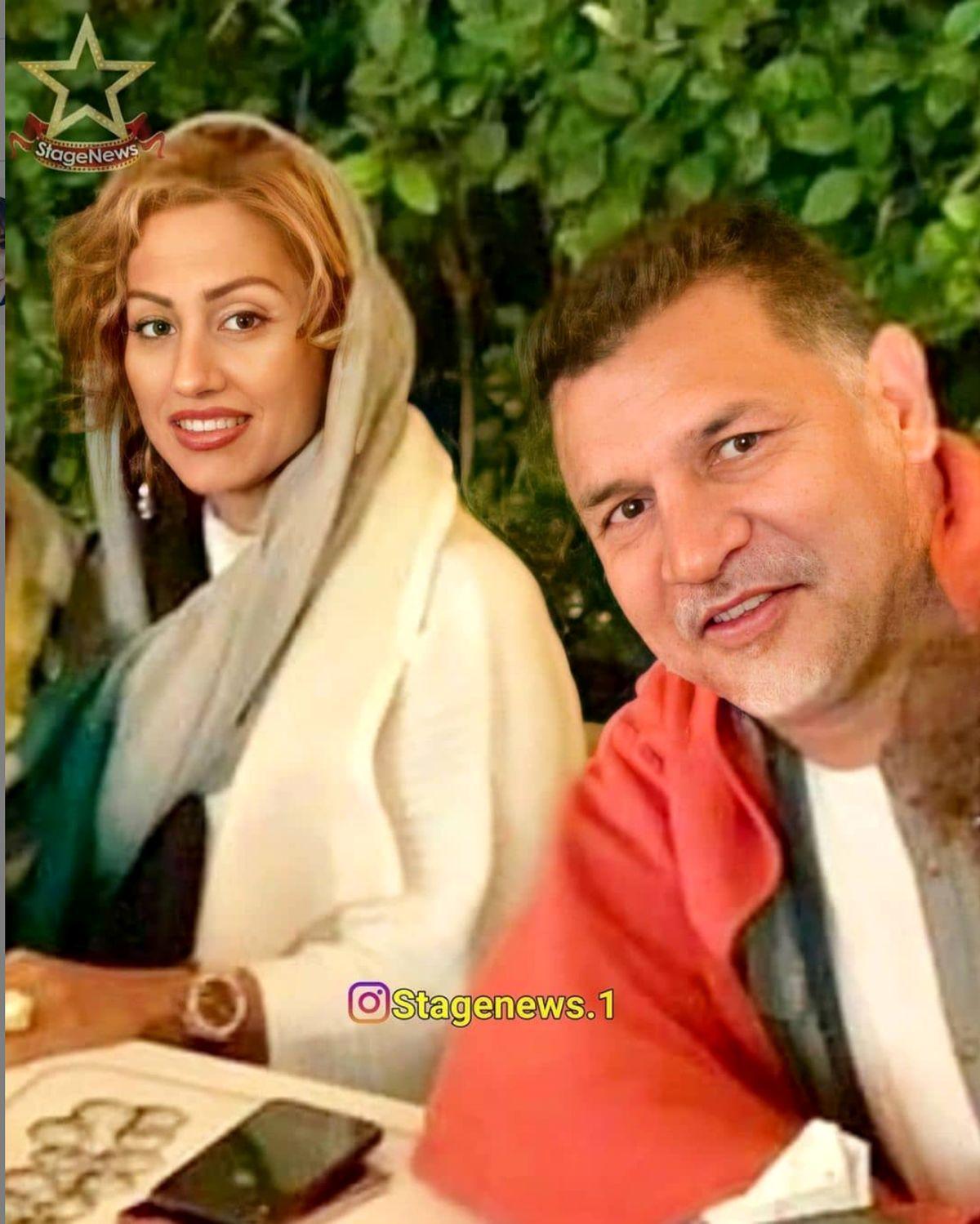 قصر شاهانه علی دایی و میهمانی باشکوهش+ تصاویر علی دایی و همسرش