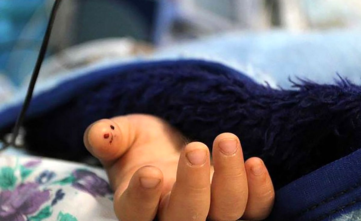 مرگ دلخراش کودک 11 ماهه اشک همه را درآورد
