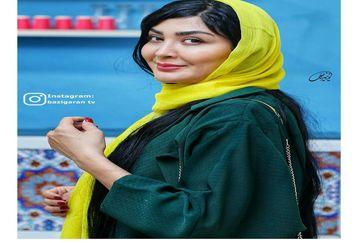 عکس لو رفته از استایل خاص مریم معصومی در دبی