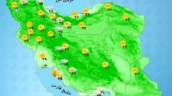 وضعیت آب و هوا امروز 19 مرداد در سراسر کشور