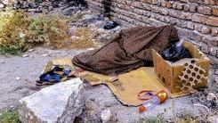 وضعیت کارتن خواب ها در تهران !