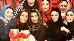 عکس زیرخاکی خانم های بازیگر ایرانی در دهه 80
