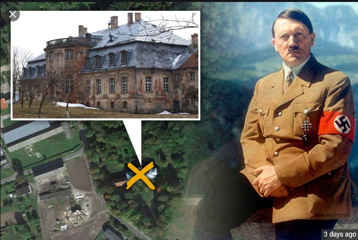 گنج های پنهان شده هیتلر نمایان شد + عکس دیده نشده