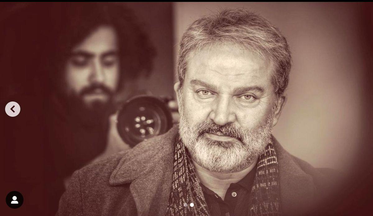 تصویر عاشقانه مهدی سلطانی با حیوان سیاه ونجیب!