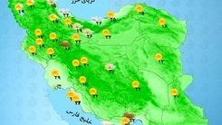 وضعیت آب و هوا امروز 26 مرداد| رگبار و رعد و برق در این مناطق
