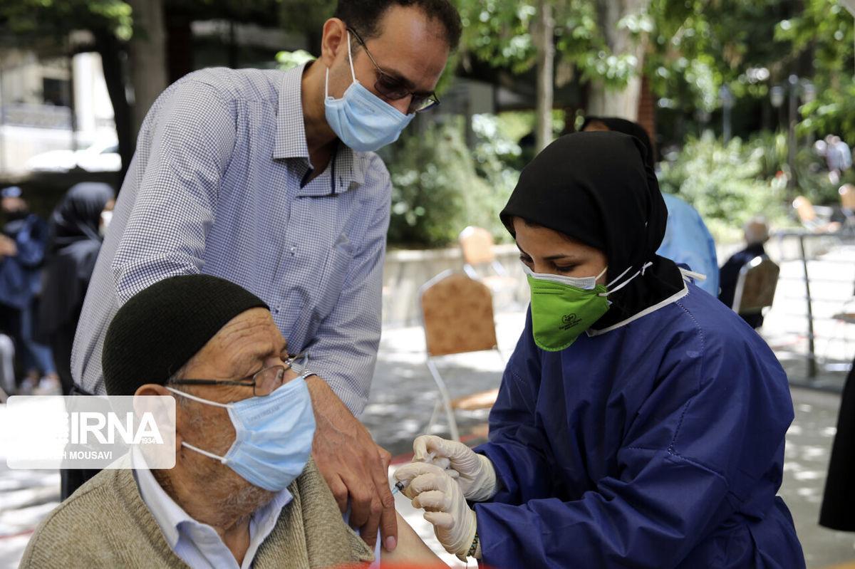 تزریق واکسن بدون محدودیت سنی در پارک قیطریه !