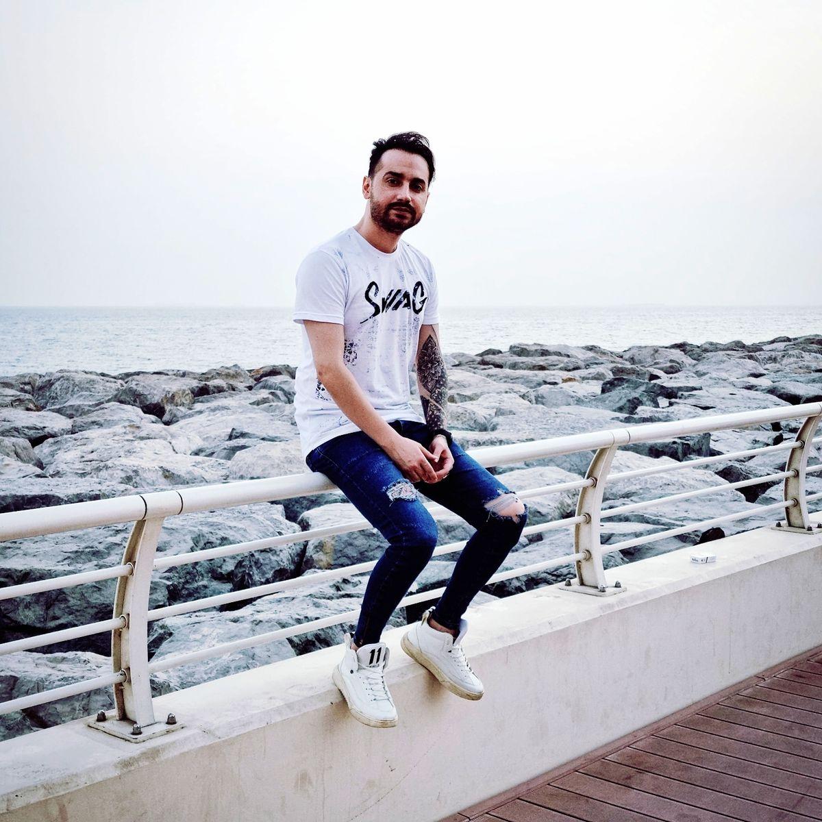 استایل جدید سامان جلیلی در دبی / عکس لورفته