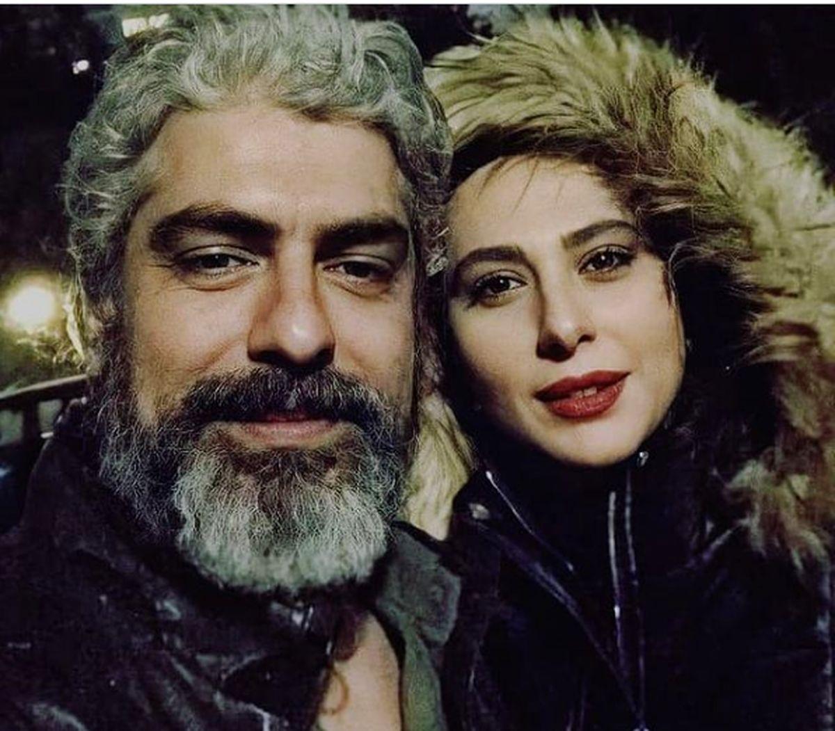 مهدی پاکدل و رعنا آزادی ور بعد از ازدواج + عکس های جدید