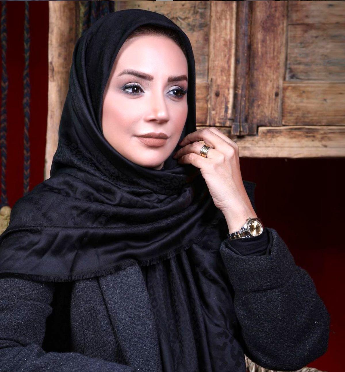 گردش شبنم قلی خانی با ماشین لاکچری / جدیدترین عکس شبنم قلی خانی