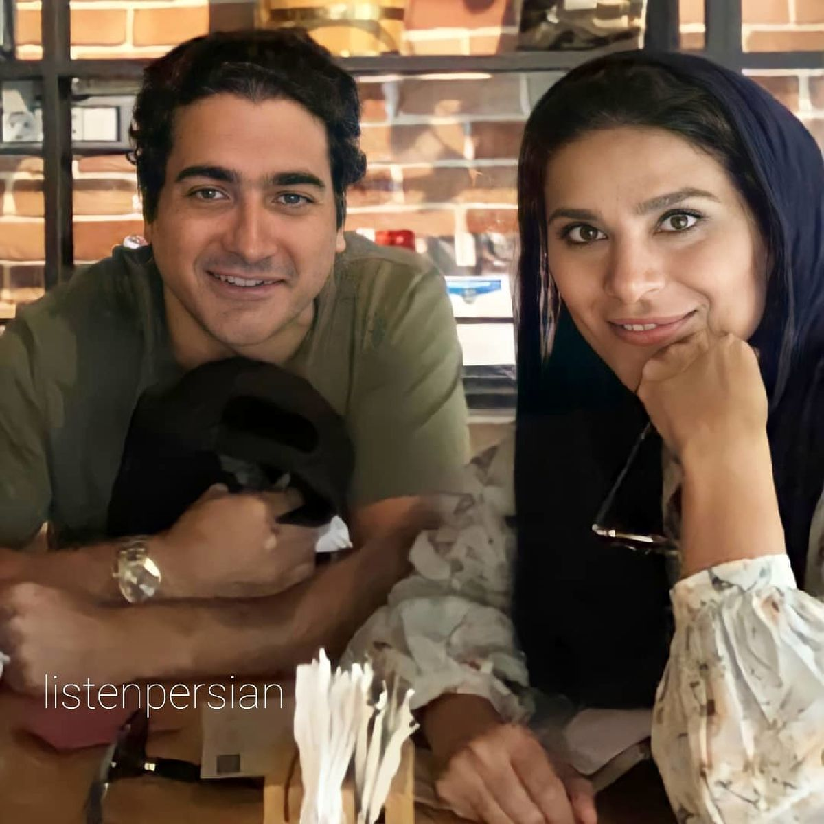 عکس متفاوت از سحر دولتشاهی در کنار همسرش همایون شجریان