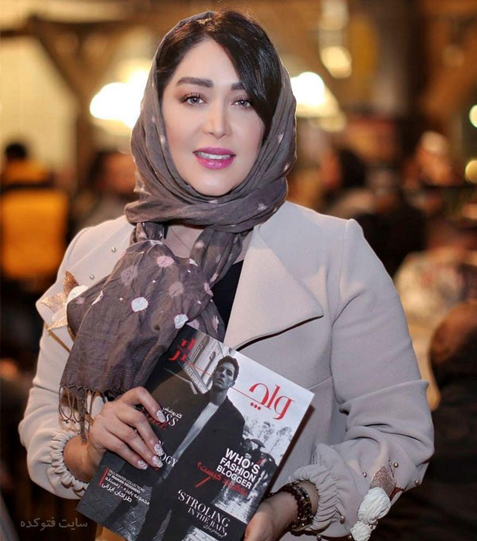 ماشین لاکچری سارا منجزی بازیگر سریال گاندو