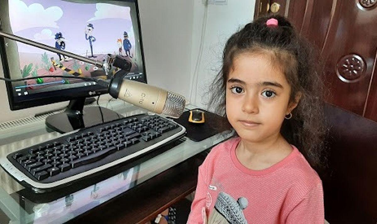 رونیکا رجبی دختر 6 ساله نابغه 25 شاگرد دارد!