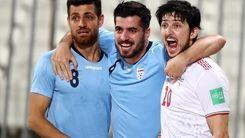 رختکن تیم ملی پس از پیروز برابر بحرین