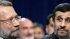 پشت پرده دعوای «لاریجانی» و «احمدینژاد» در صحن مجلس