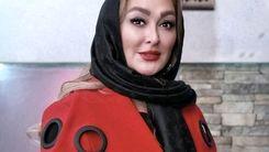 عکس جنجالی الهام حمیدی در خارج از کشور