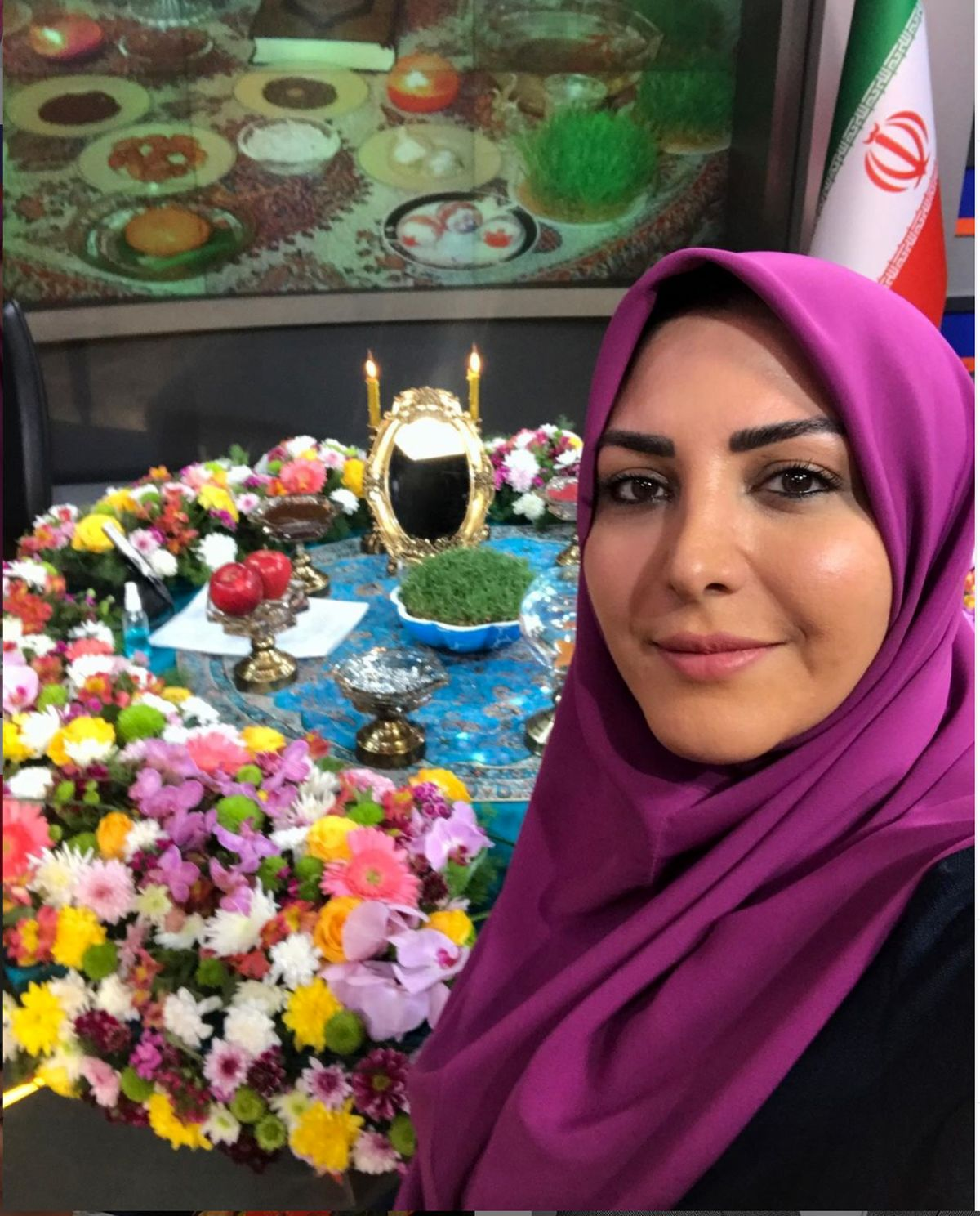 کیک خاص جشن تولد المیرا شریفی مقدم