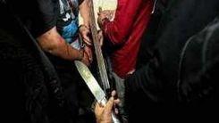 صحنه فجیع قطع شدن دست جوان تهرانی با قمه اوباش / در پارک شاهد اتفاق افتاد