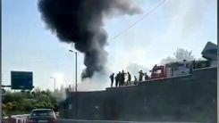 فوری| آتش سوزی مهیب در صادقیه تهران+ فیلم